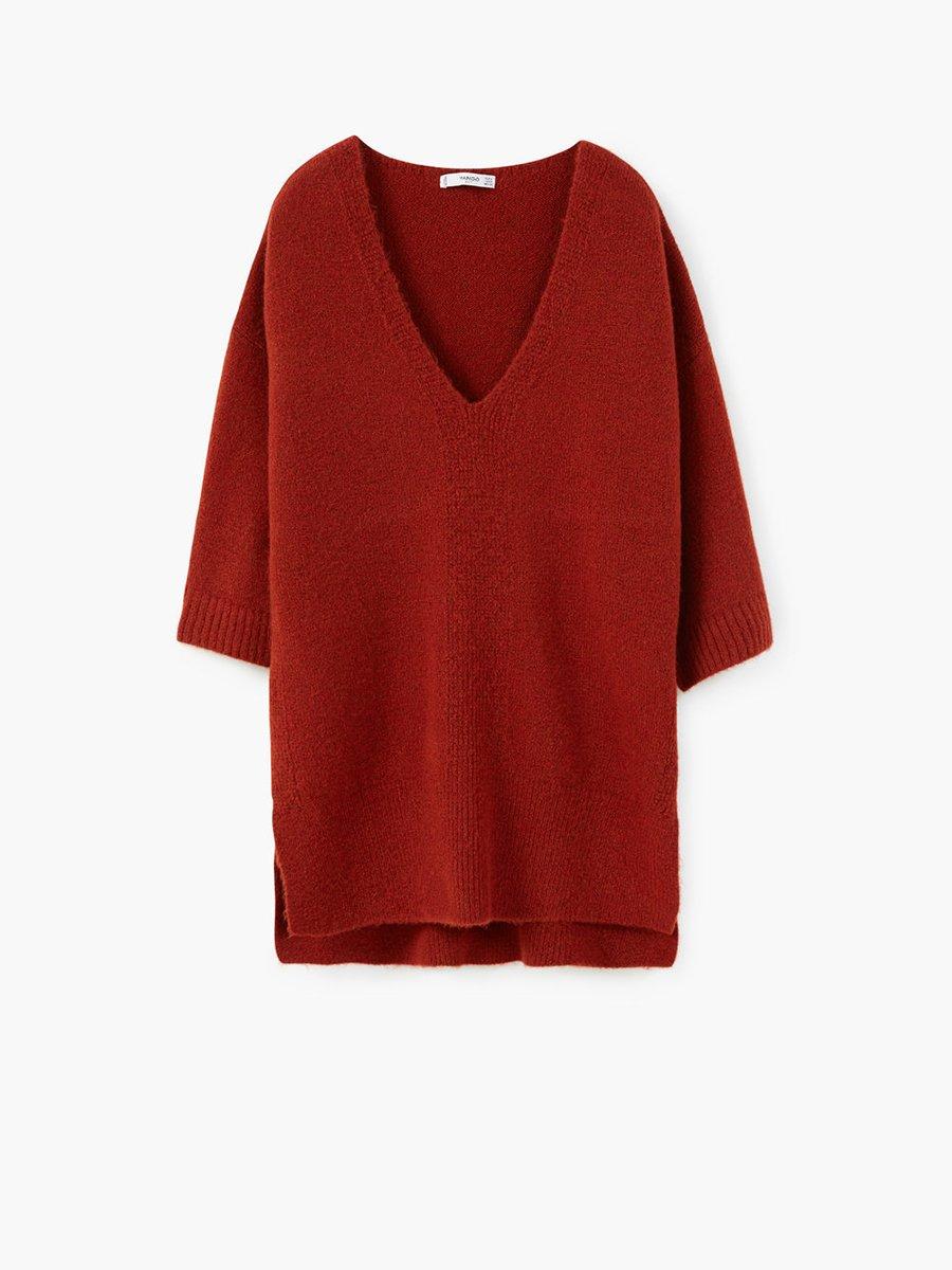 Пуловер терракотовый | 2076692 | фото 2