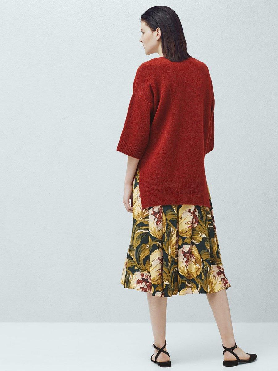 Пуловер терракотовый | 2076692 | фото 3