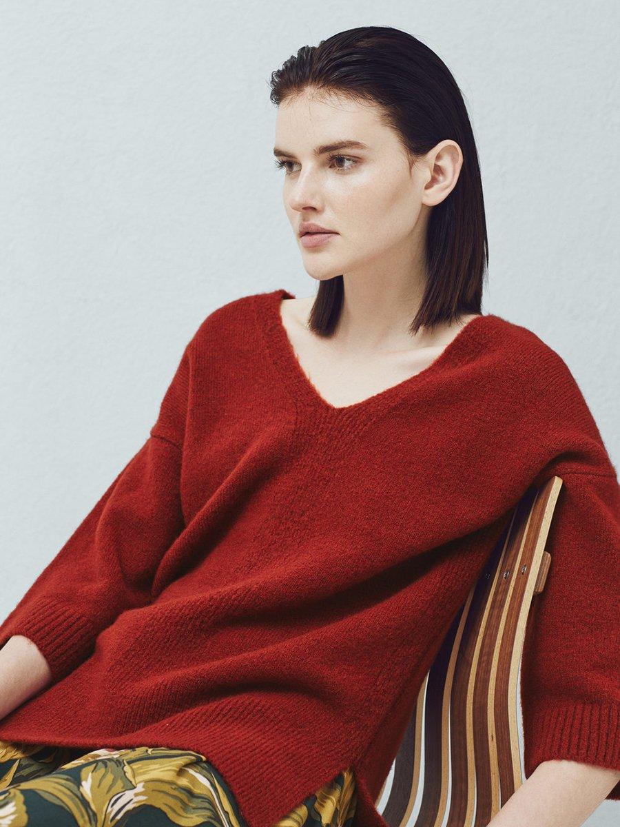 Пуловер терракотовый | 2076692 | фото 4