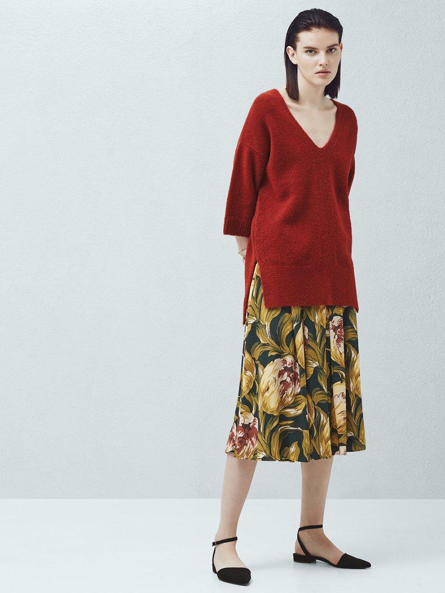 Пуловер терракотовый | 2076692 | фото 8