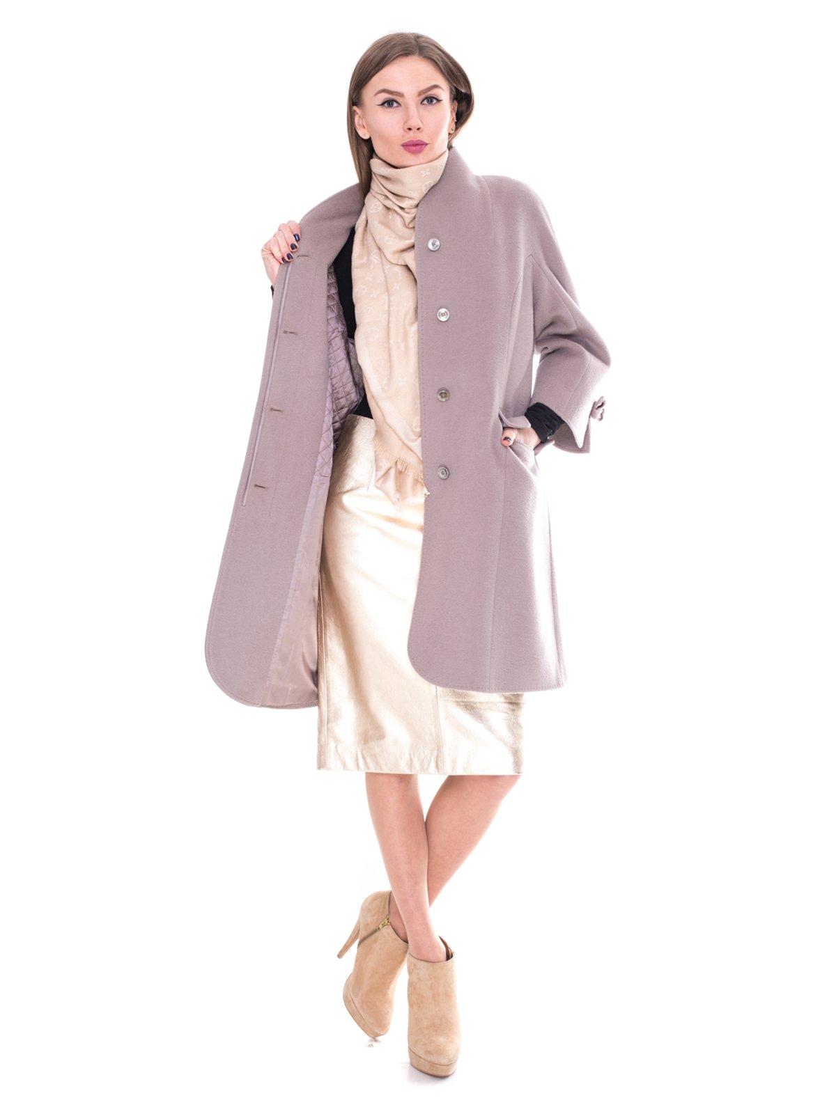 Пальто серое | 2083545 | фото 2