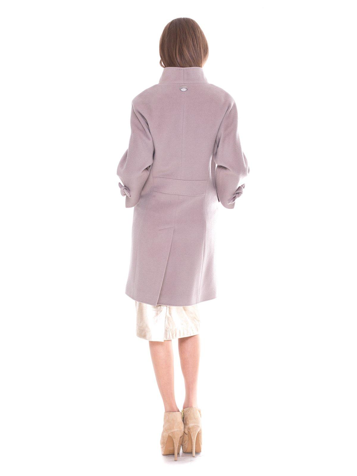 Пальто серое | 2083545 | фото 3