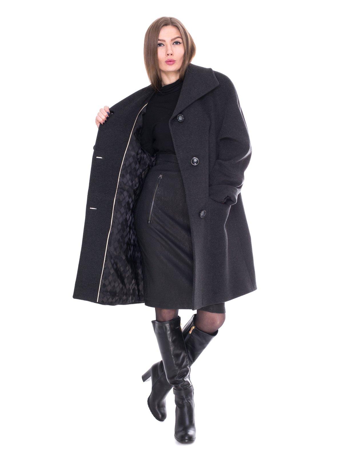 Пальто серое   2083615   фото 2