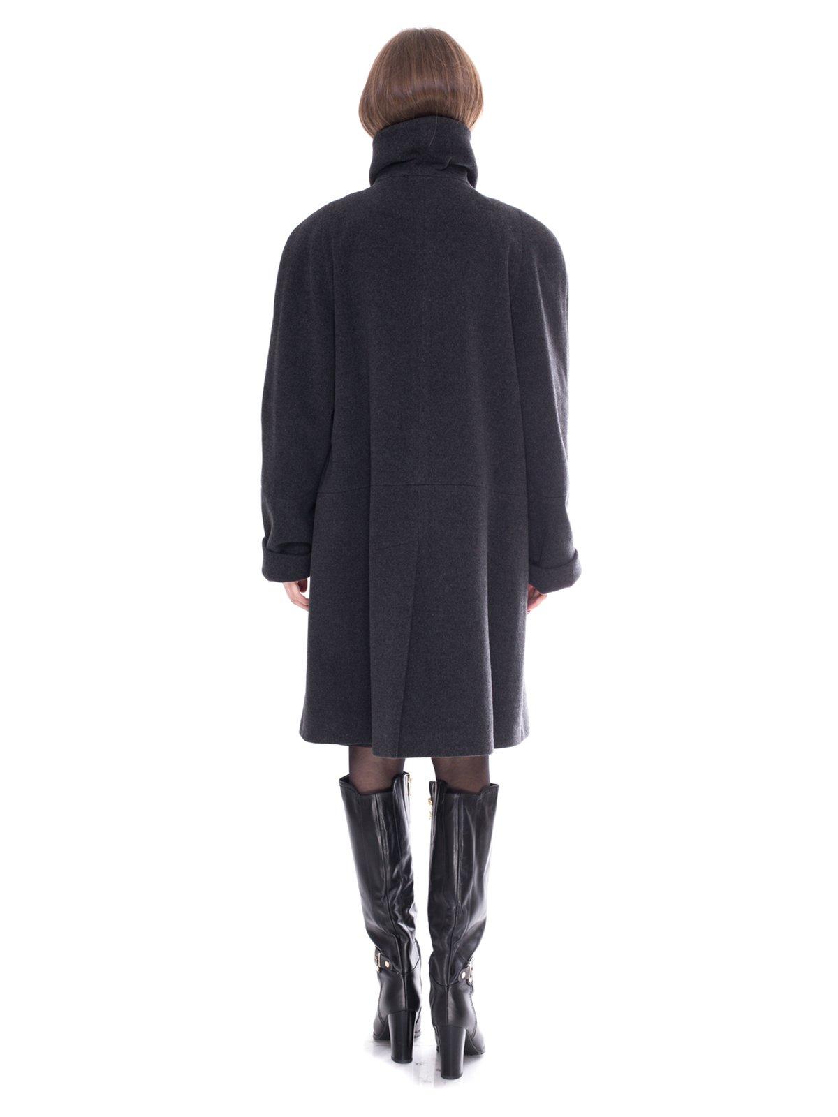 Пальто серое   2083615   фото 3
