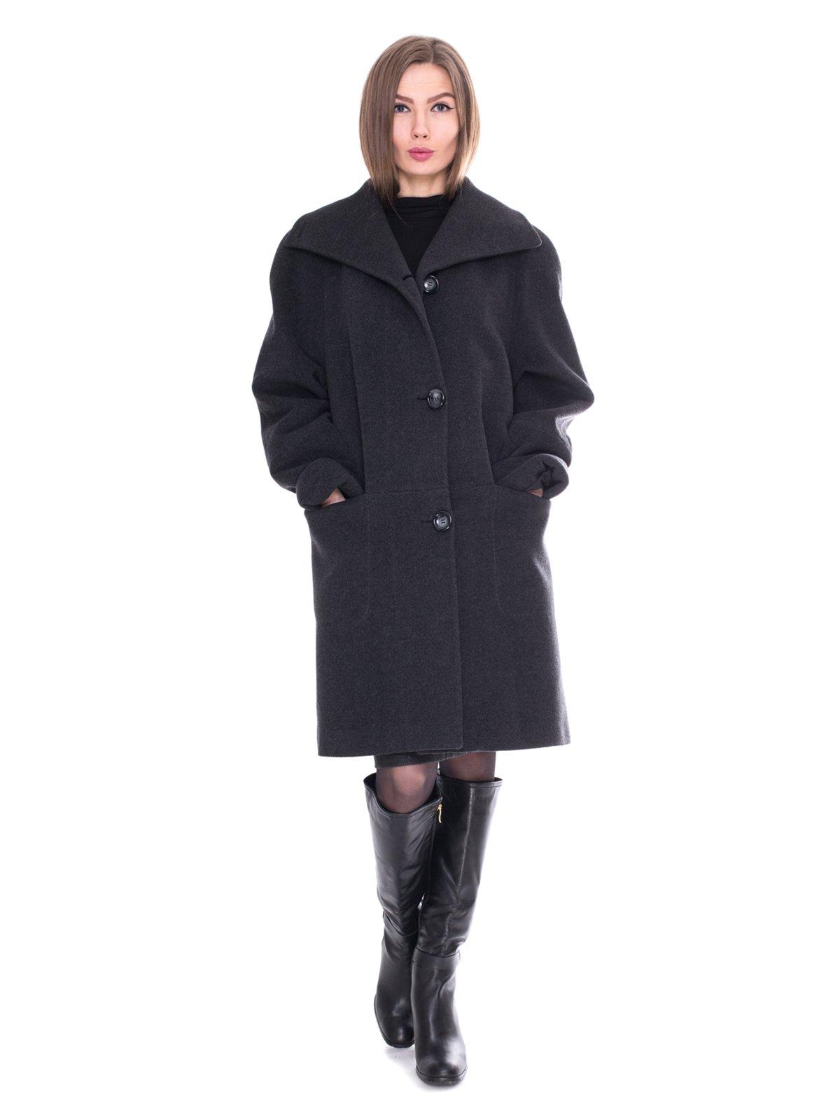 Пальто серое   2083615   фото 4