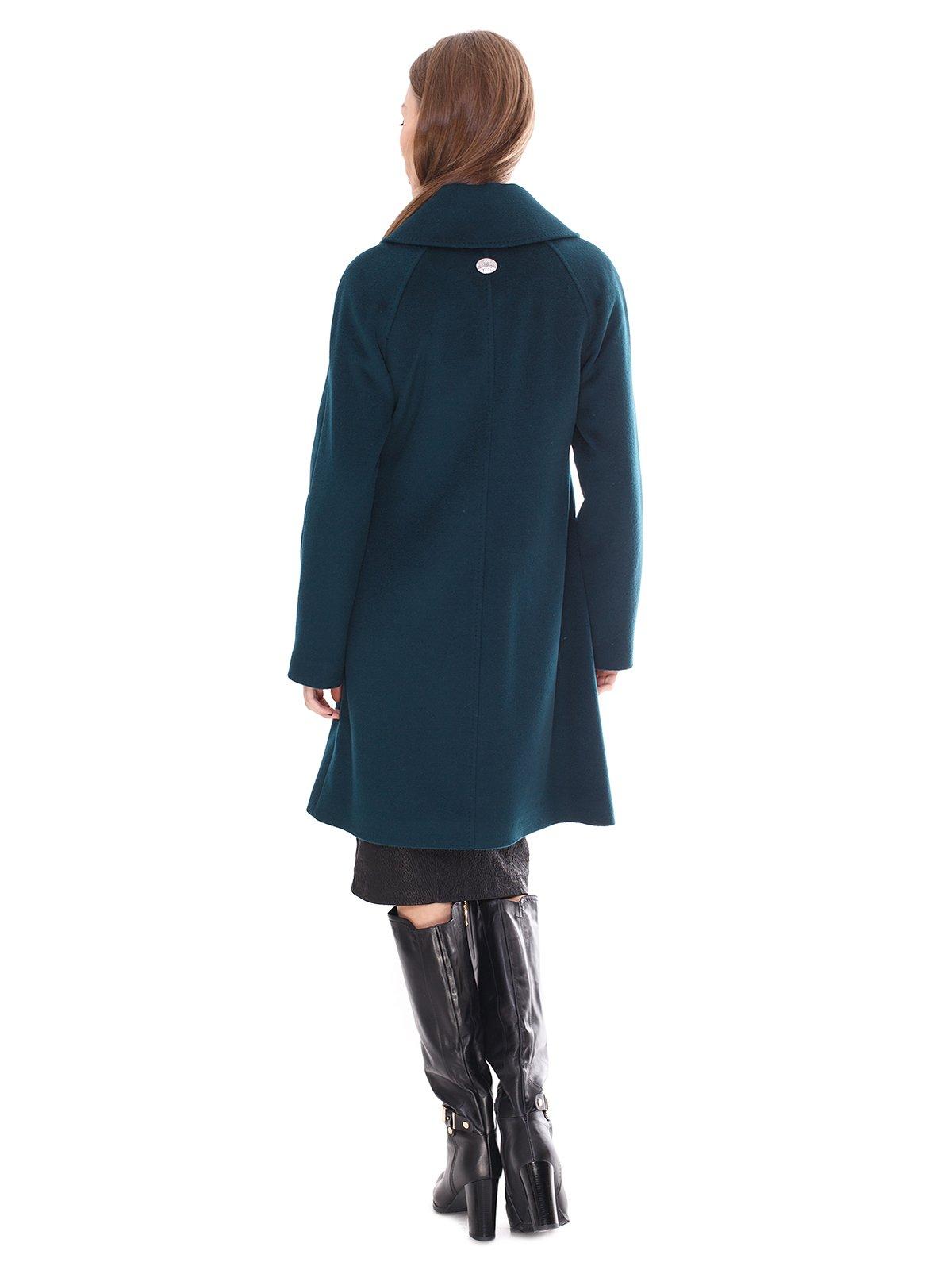 Пальто зеленое | 2083638 | фото 3