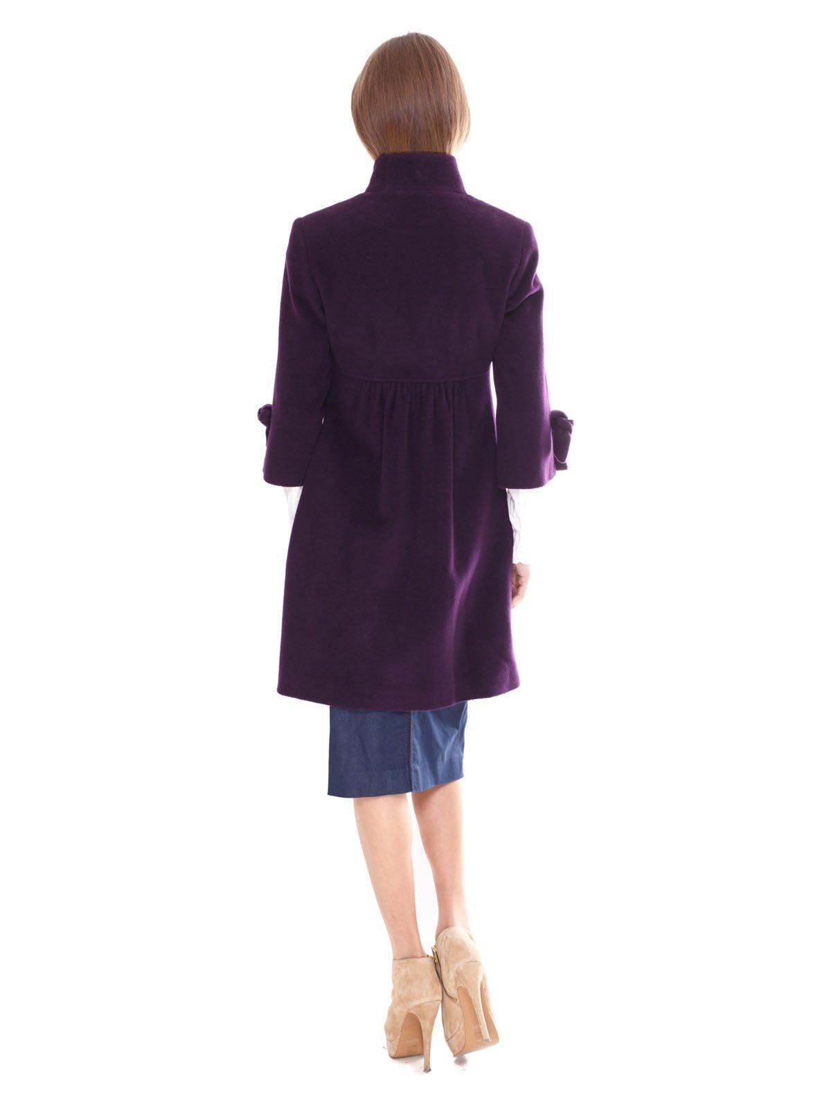 Пальто фиолетовое | 2083659 | фото 3
