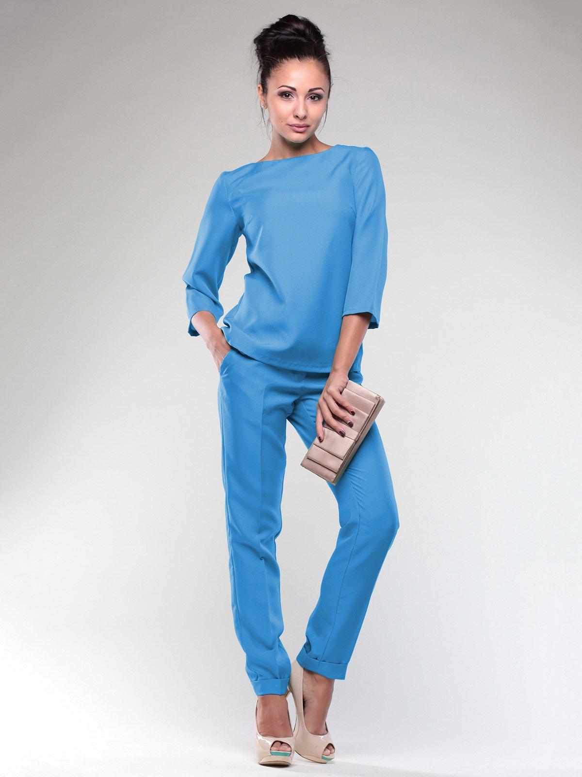 Костюм: блуза и брюки | 2076034
