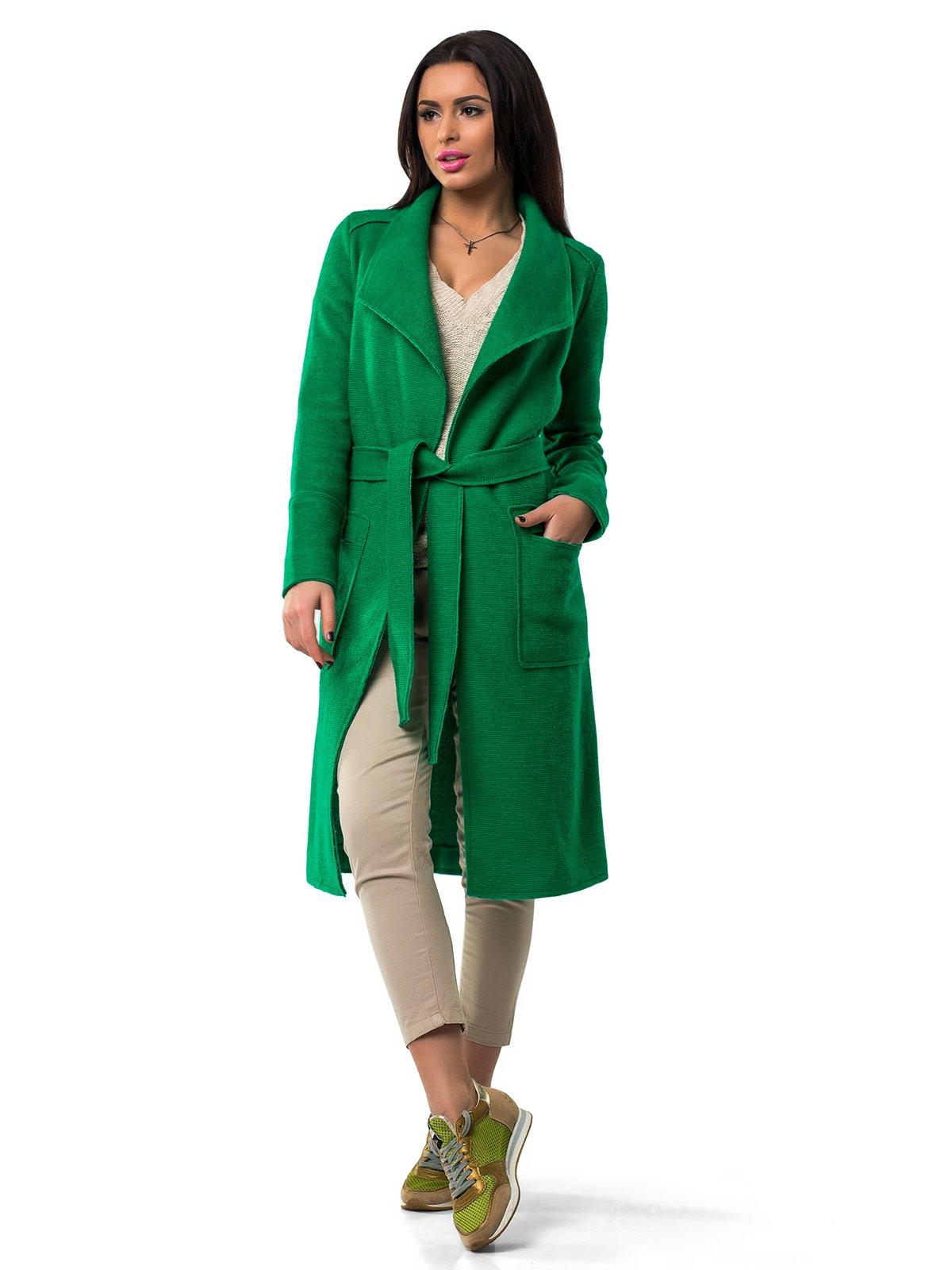 Пальто зеленое | 1962159