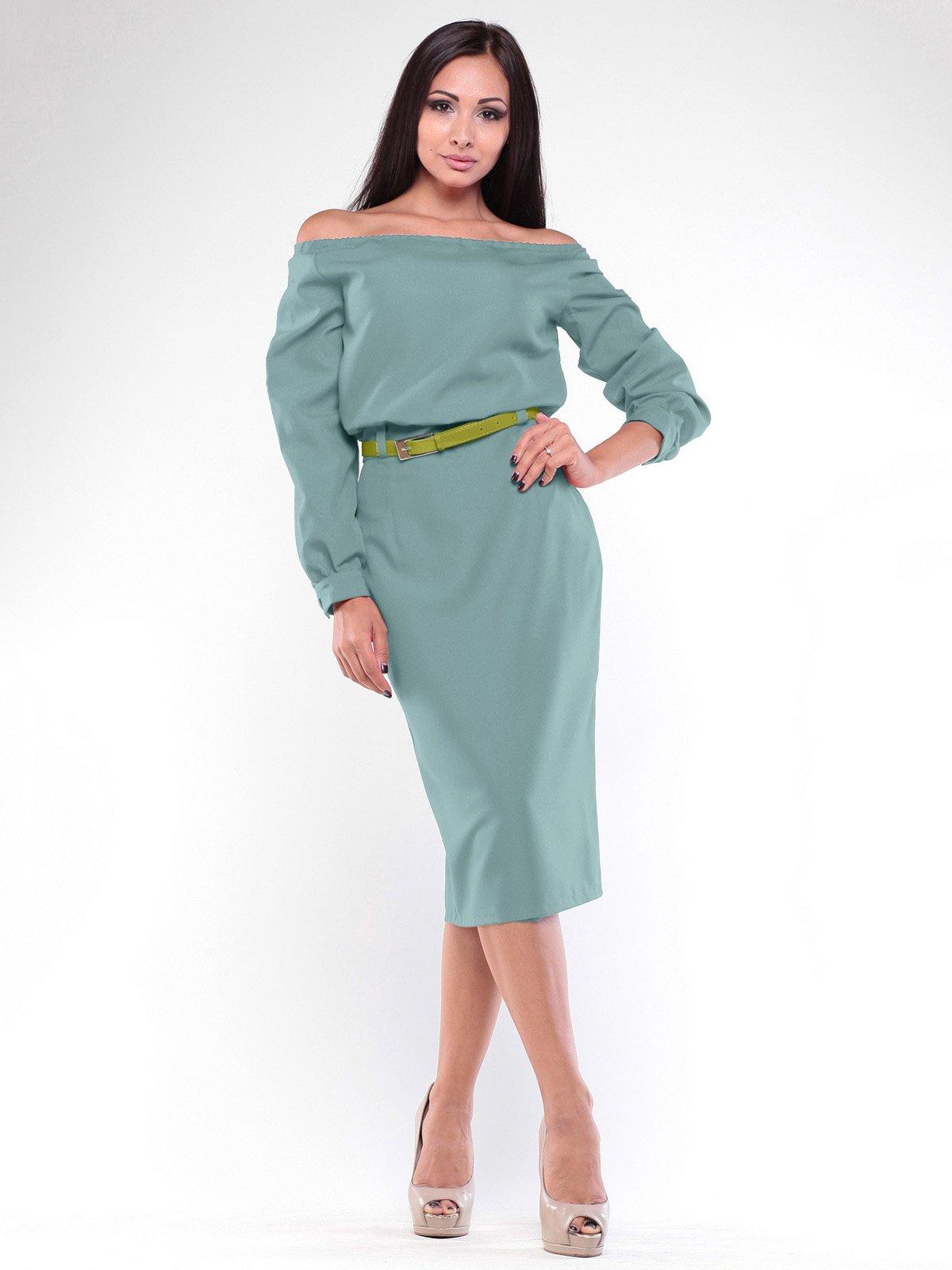 Сукня оливкового кольору | 2092556