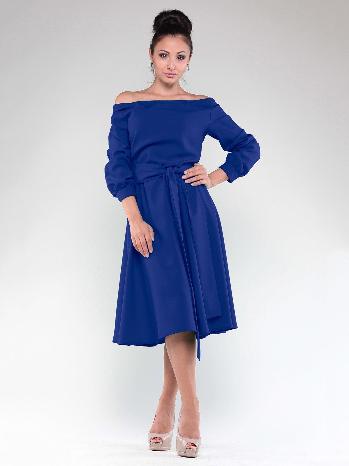 Сукня кольору електрик   2097935