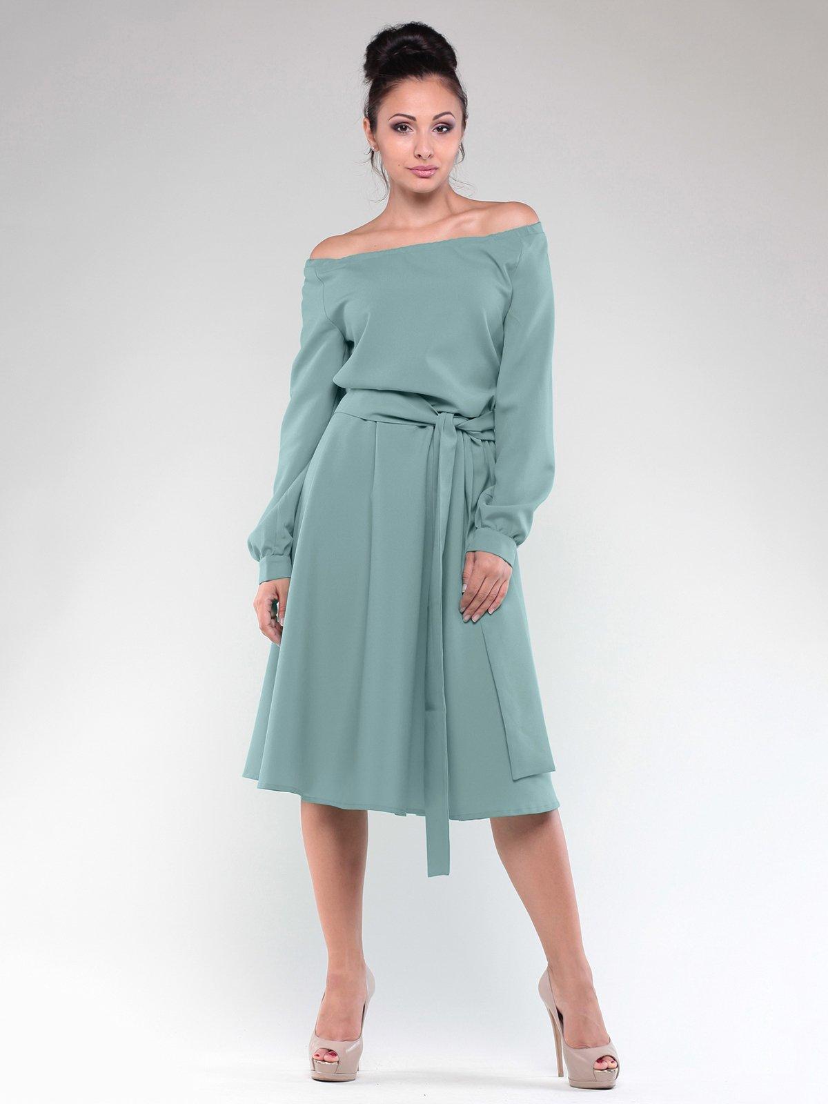 Сукня оливкового кольору | 2097936