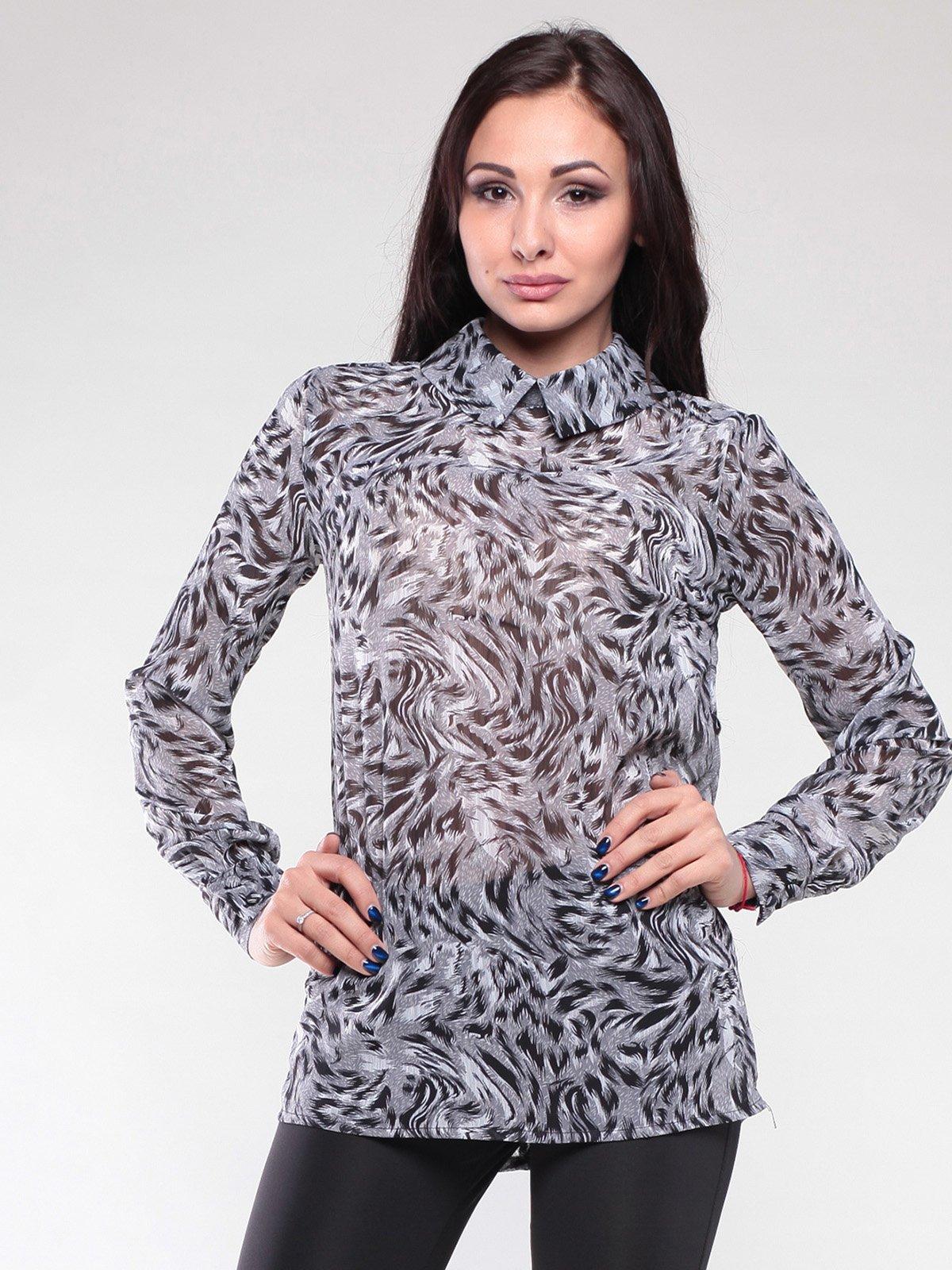 Блуза в принт | 2111058