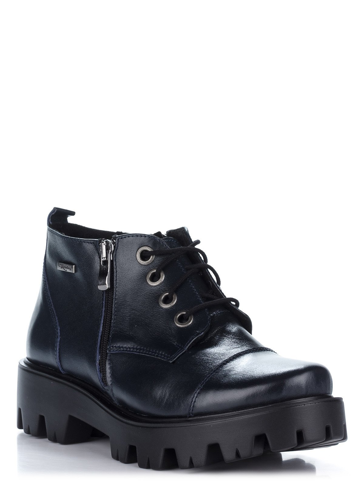 Ботинки синие   2110214