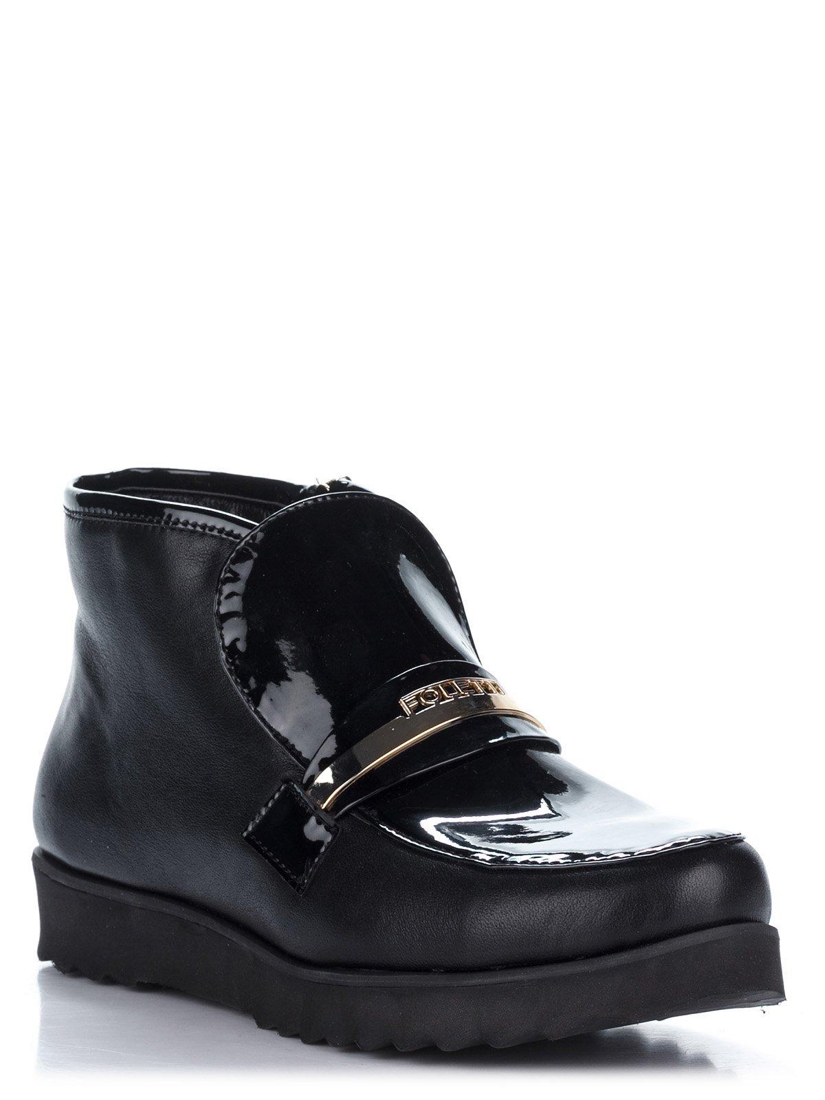 Ботинки черные | 2110225
