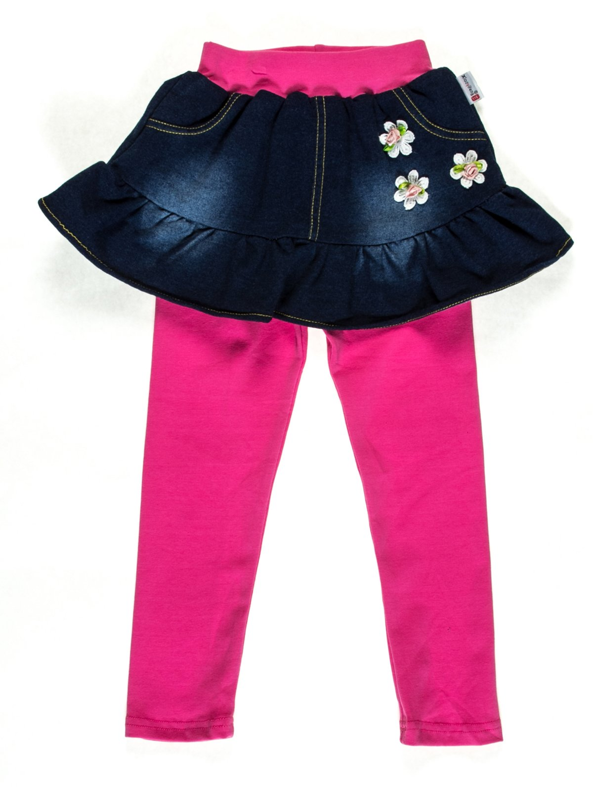 Легінси рожеві зі спідницею   2109714