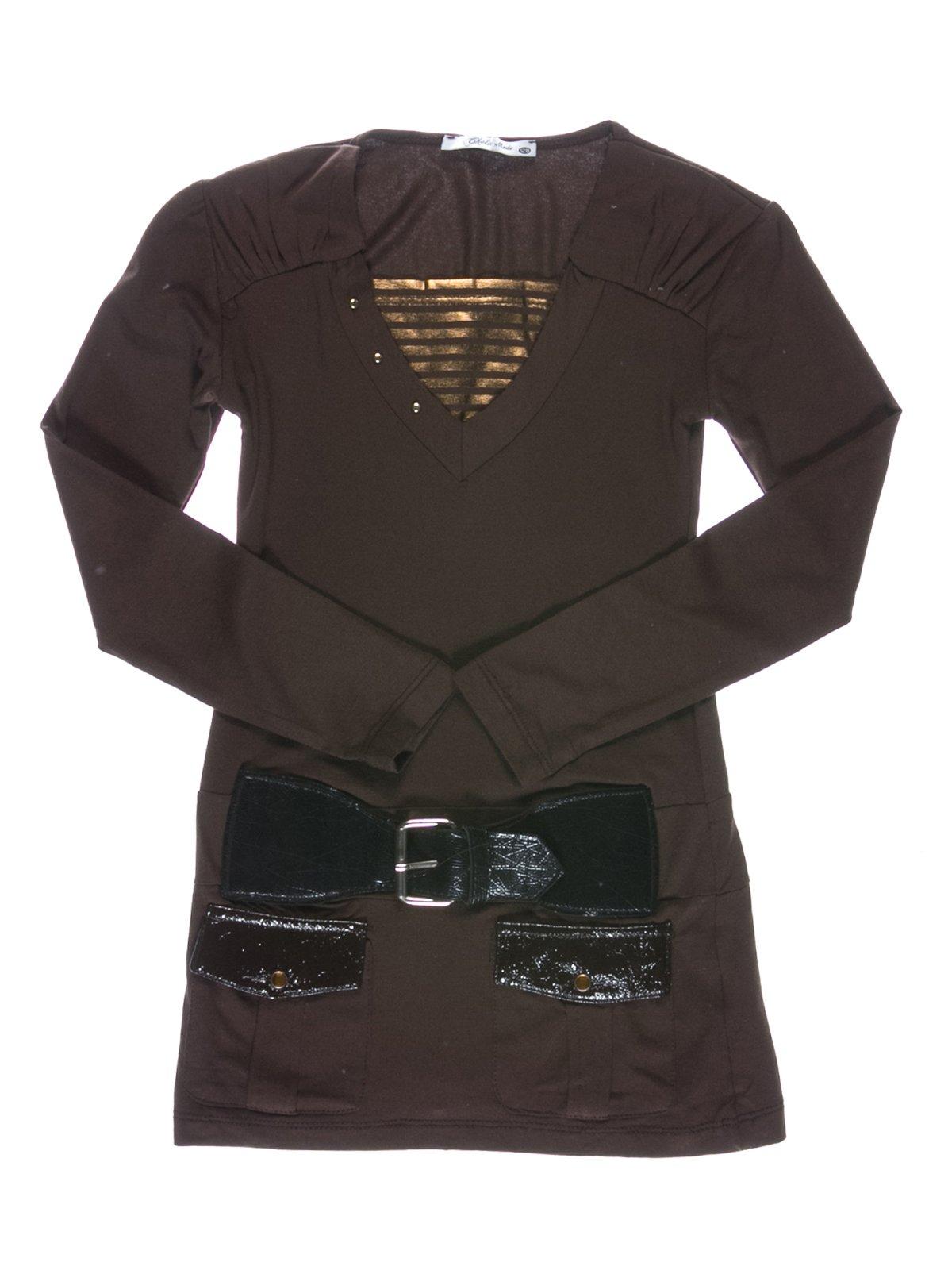 Туника коричневая   1547616