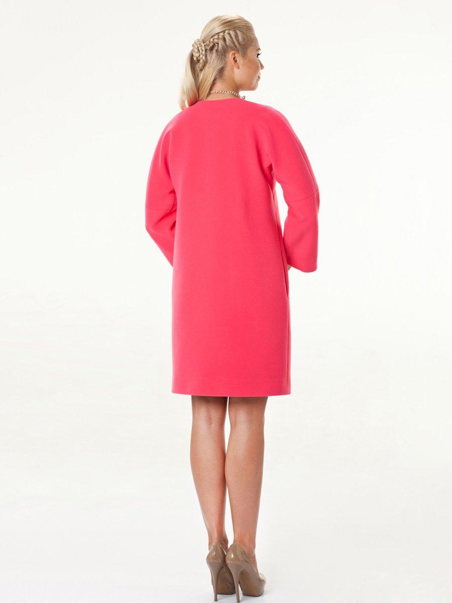 Пальто розовое | 2074798 | фото 2