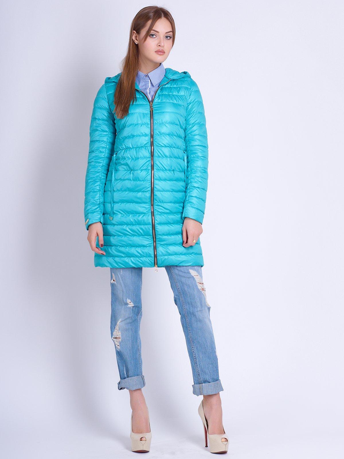 Куртка бірюзова   2106989