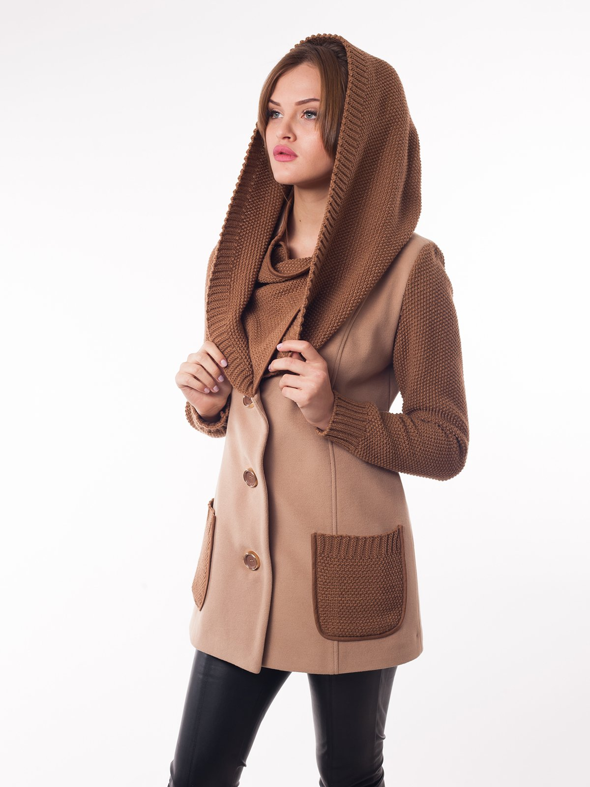 Пальто бежеве | 2107052