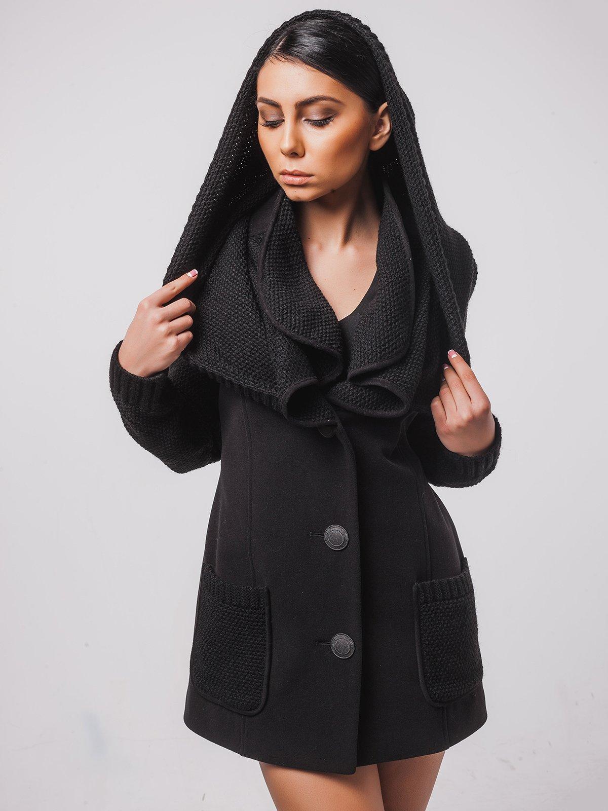 Пальто чорне   2107053