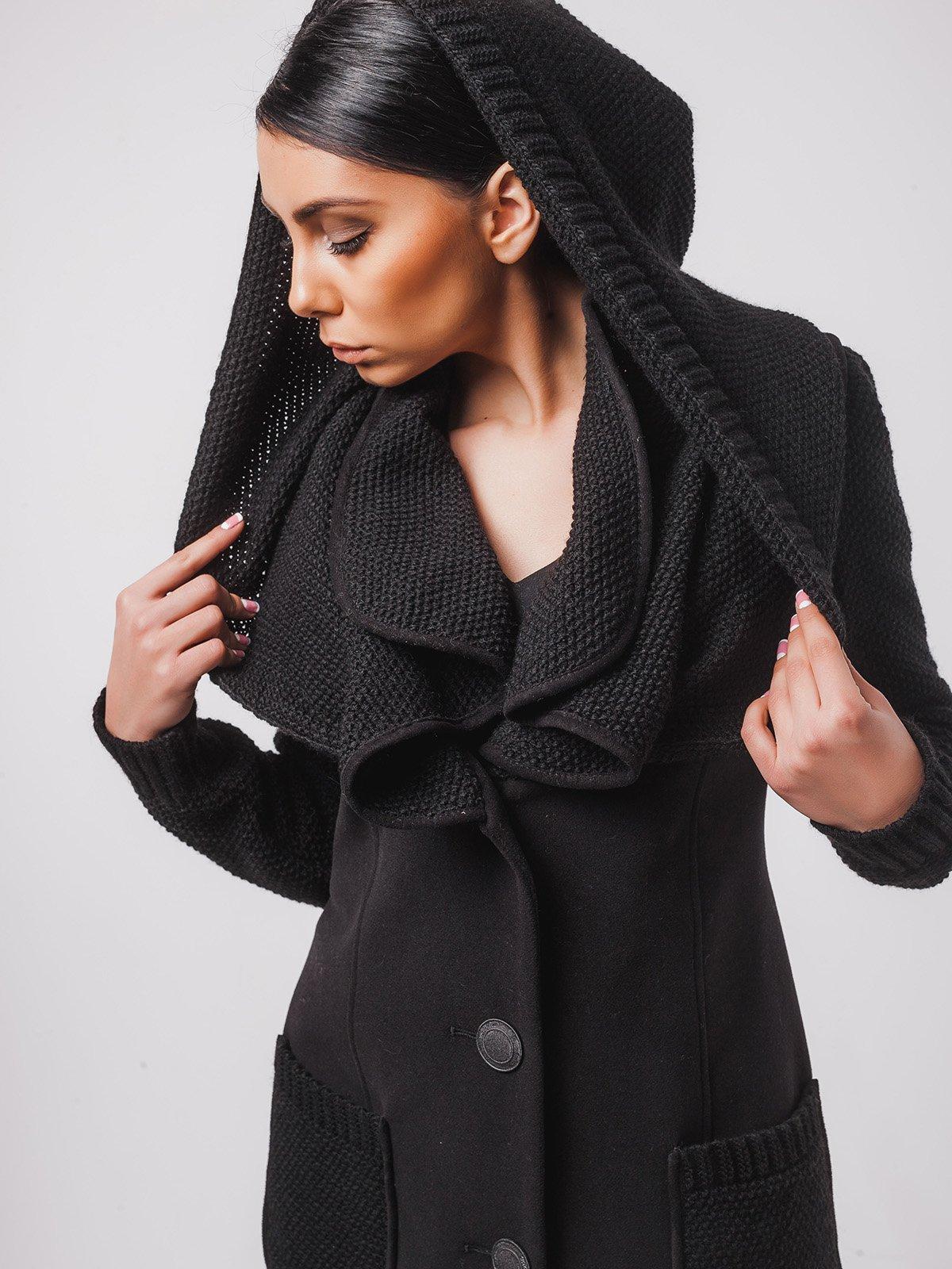 Пальто чорне   2107053   фото 2