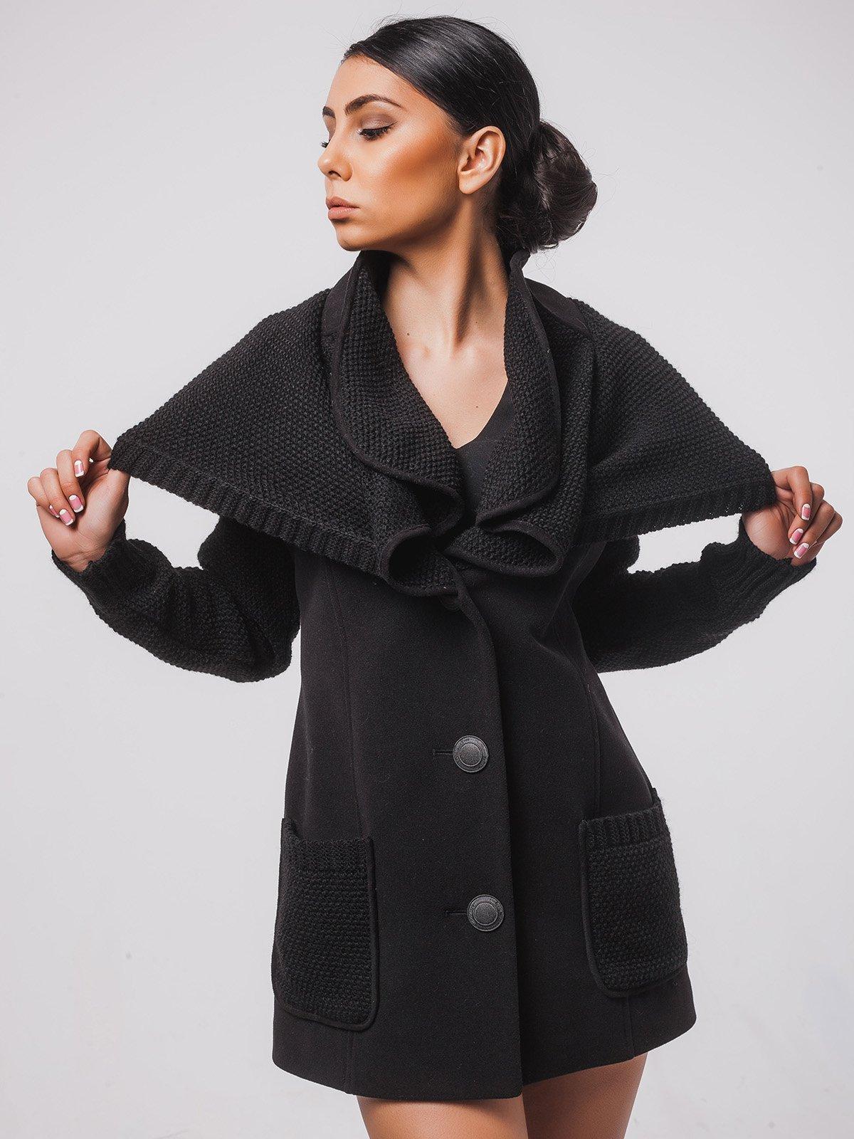 Пальто чорне   2107053   фото 3