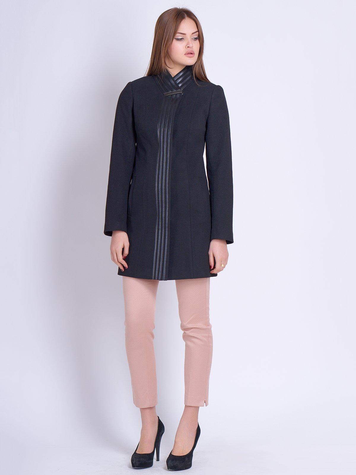 Пальто чорне | 2121196 | фото 2