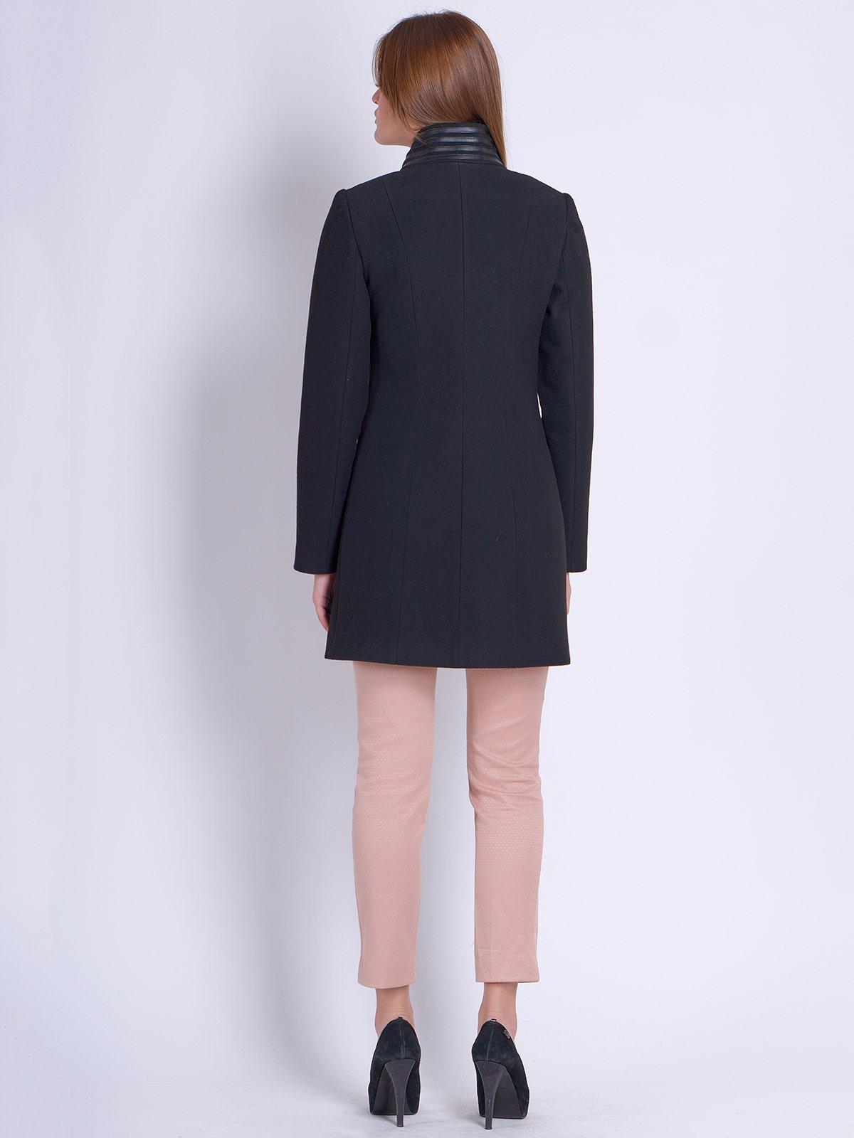 Пальто чорне | 2121196 | фото 3