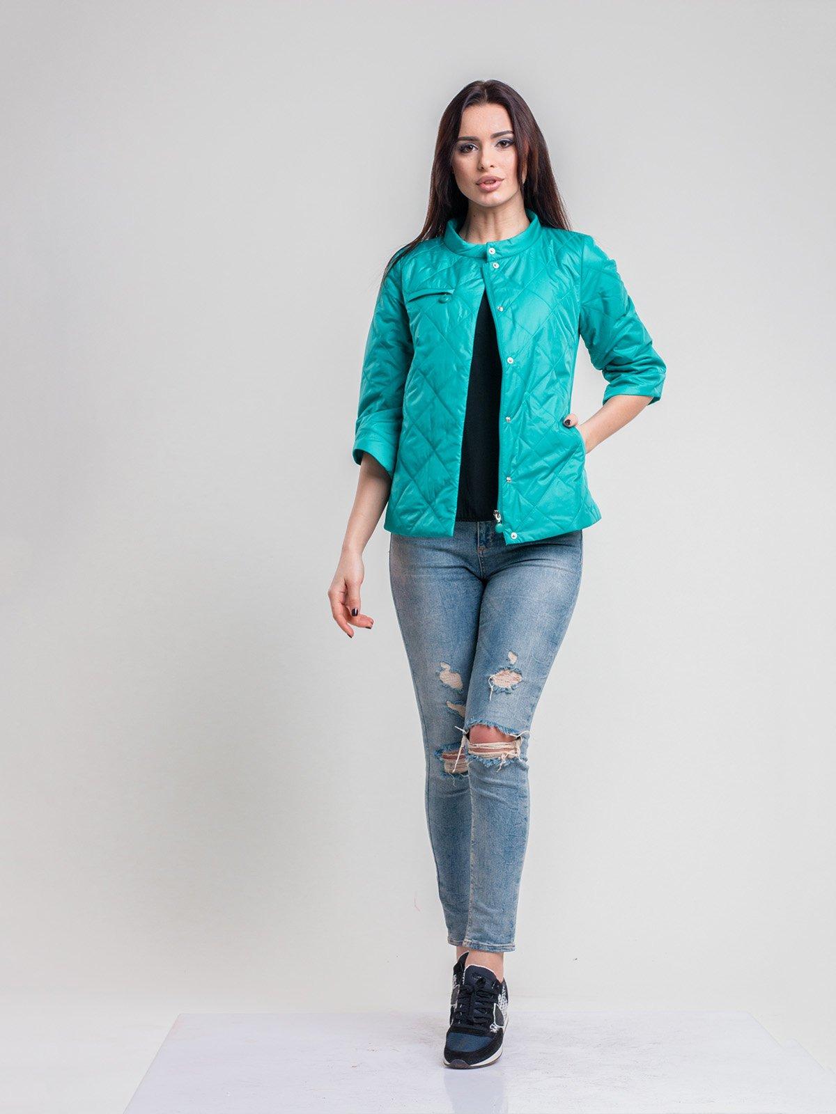 Куртка зеленая | 2116207