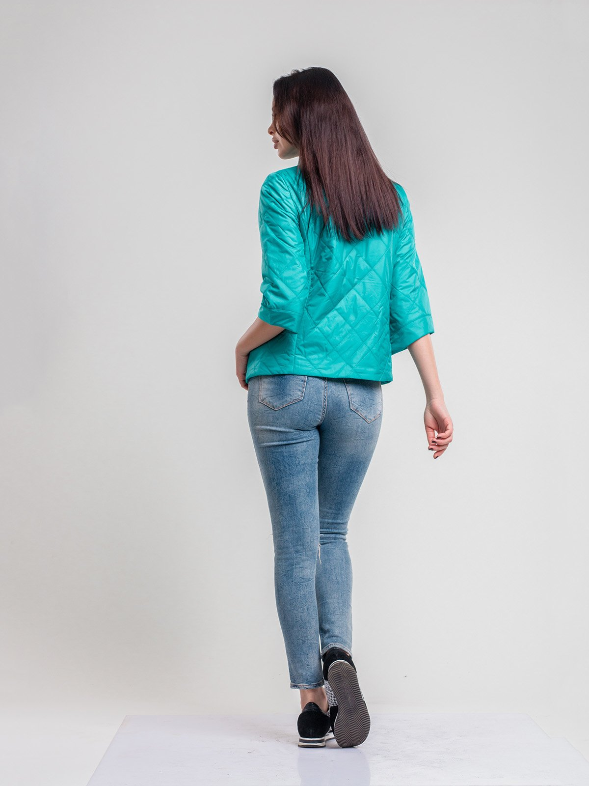 Куртка зеленая | 2116207 | фото 2