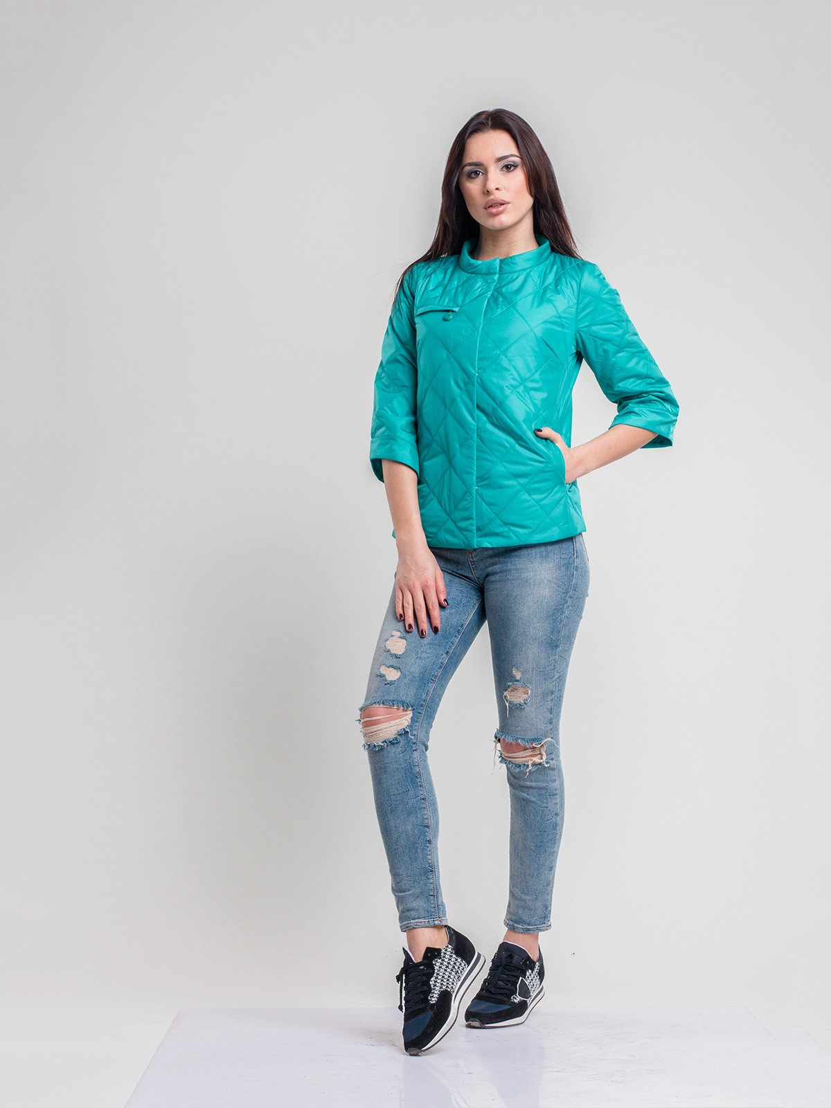 Куртка зеленая | 2116207 | фото 3