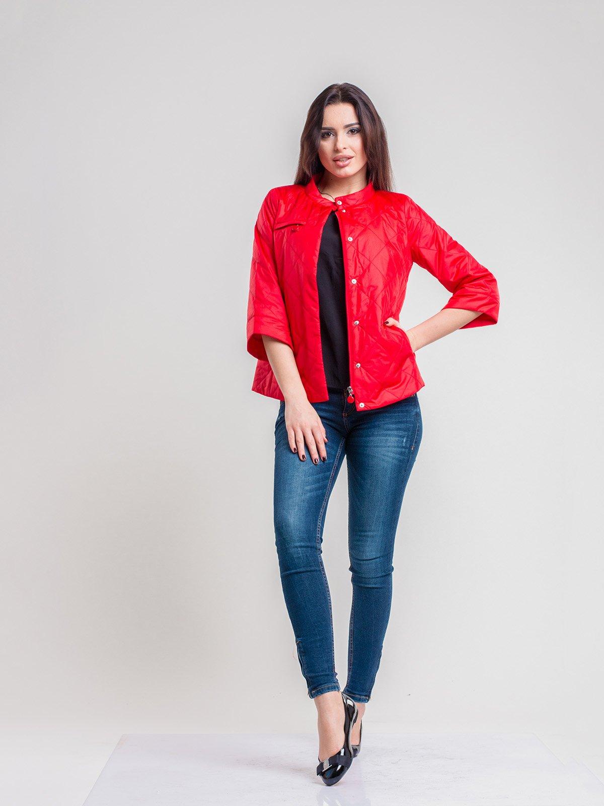 Куртка красная | 2116208 | фото 3