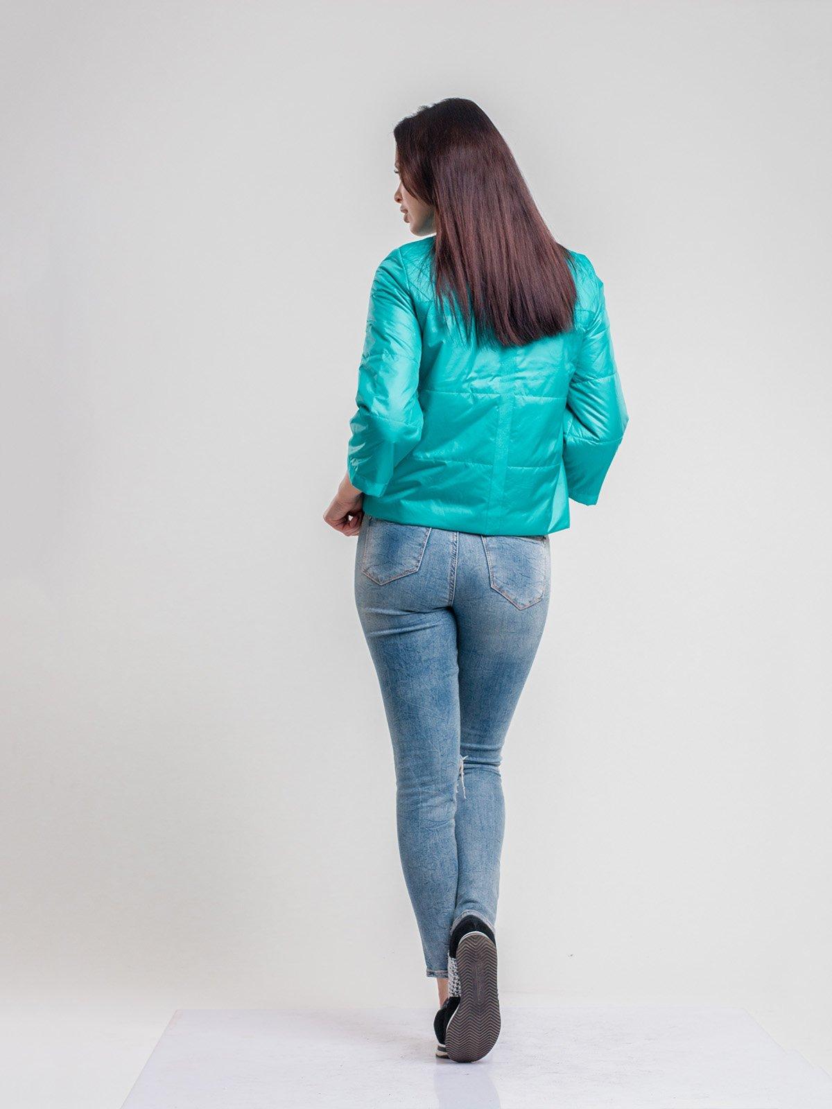Куртка бирюзовая | 2116212 | фото 2