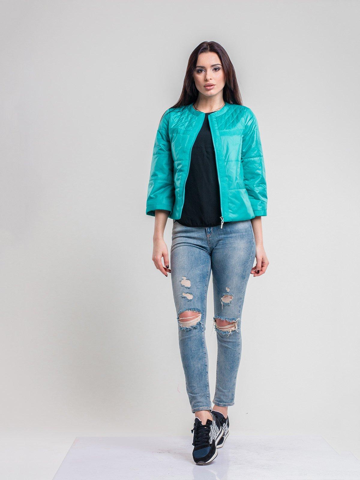 Куртка бирюзовая | 2116212 | фото 3