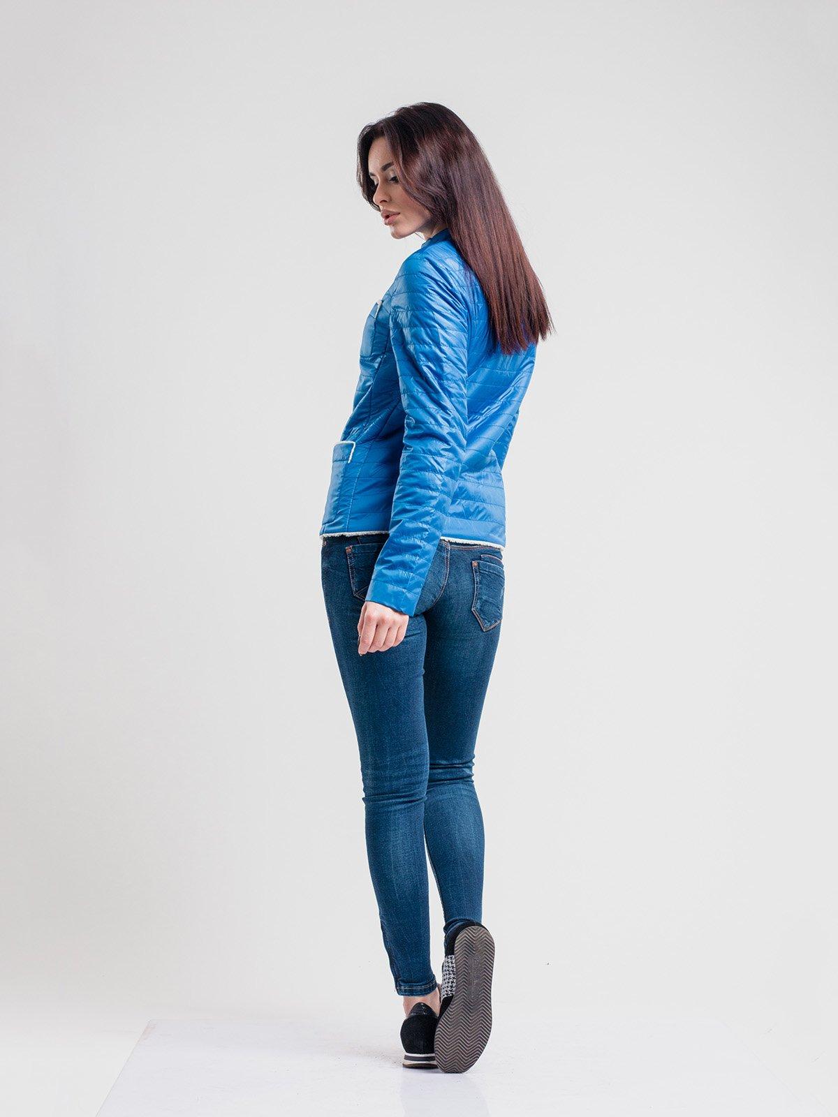 Куртка голубая | 2116216 | фото 2