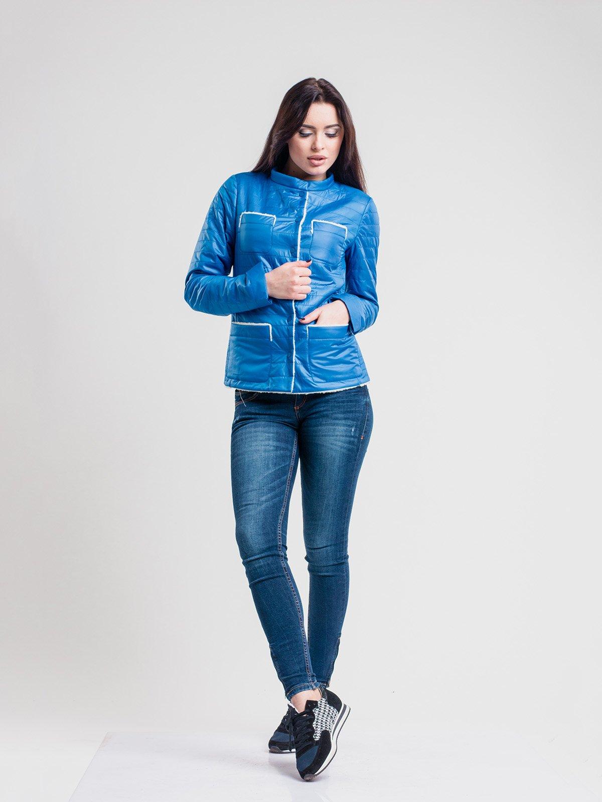 Куртка голубая | 2116216 | фото 3