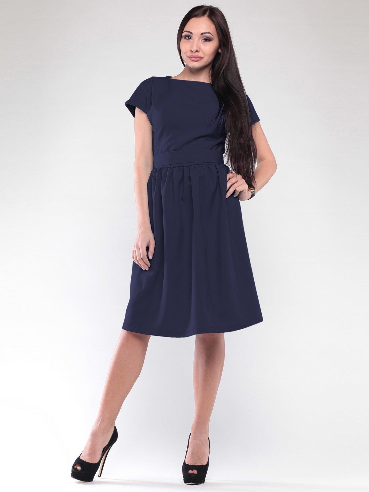 Сукня темно-синя | 2126201