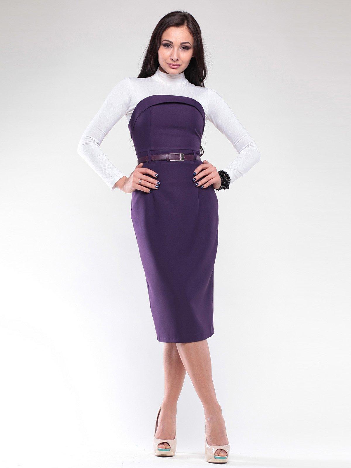 Платье темно-фиолетовое | 2126489