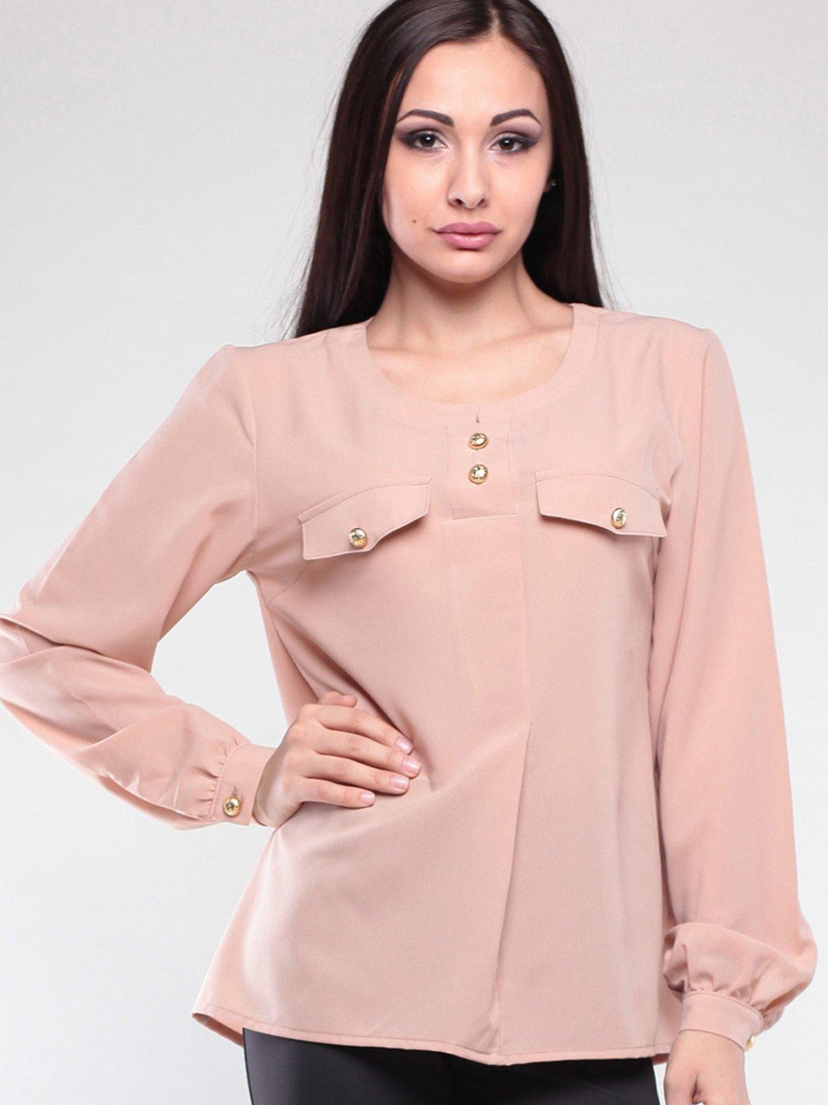 Блуза цвета мокко   2126586