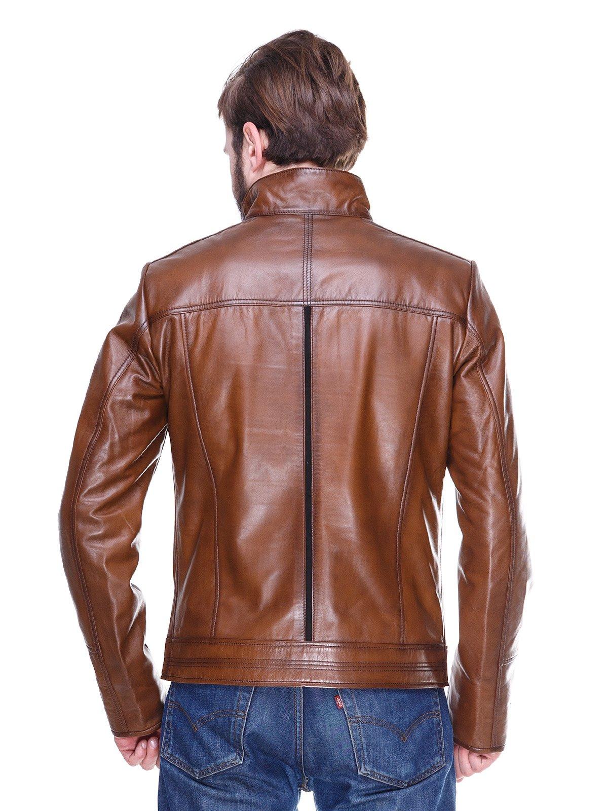 Куртка коричневая   2128664   фото 2