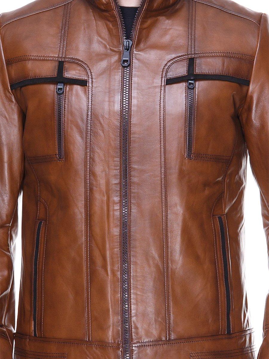Куртка коричневая   2128664   фото 3