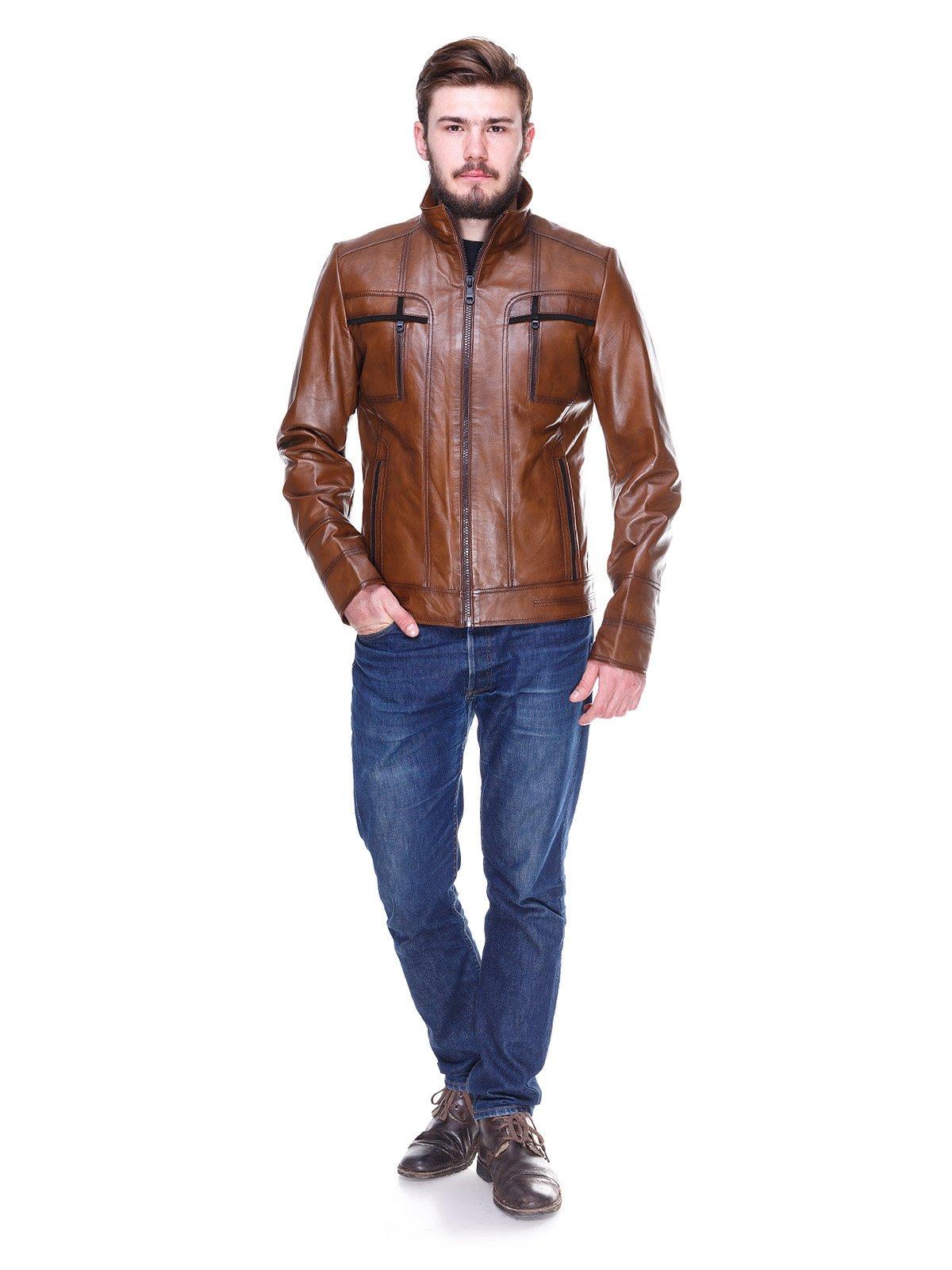 Куртка коричневая   2128664   фото 4