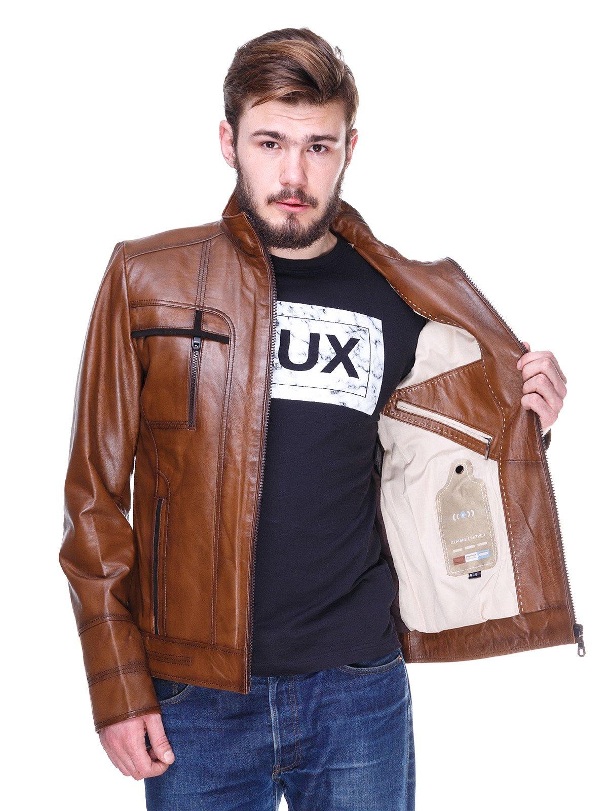 Куртка коричневая   2128664   фото 5