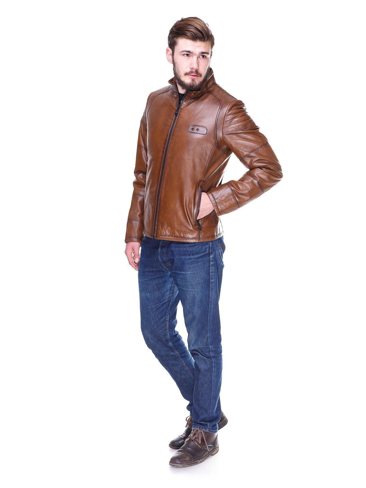Куртка коричнева | 2128665 | фото 4