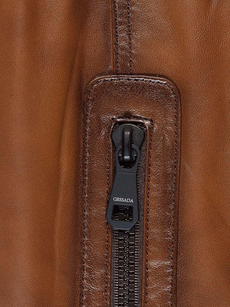 Куртка коричнева | 2128665 | фото 6