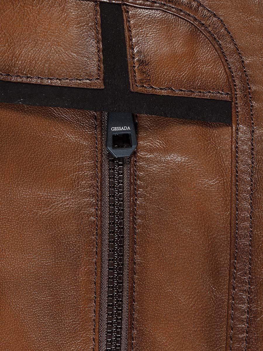 Куртка коричневая   2128664   фото 6