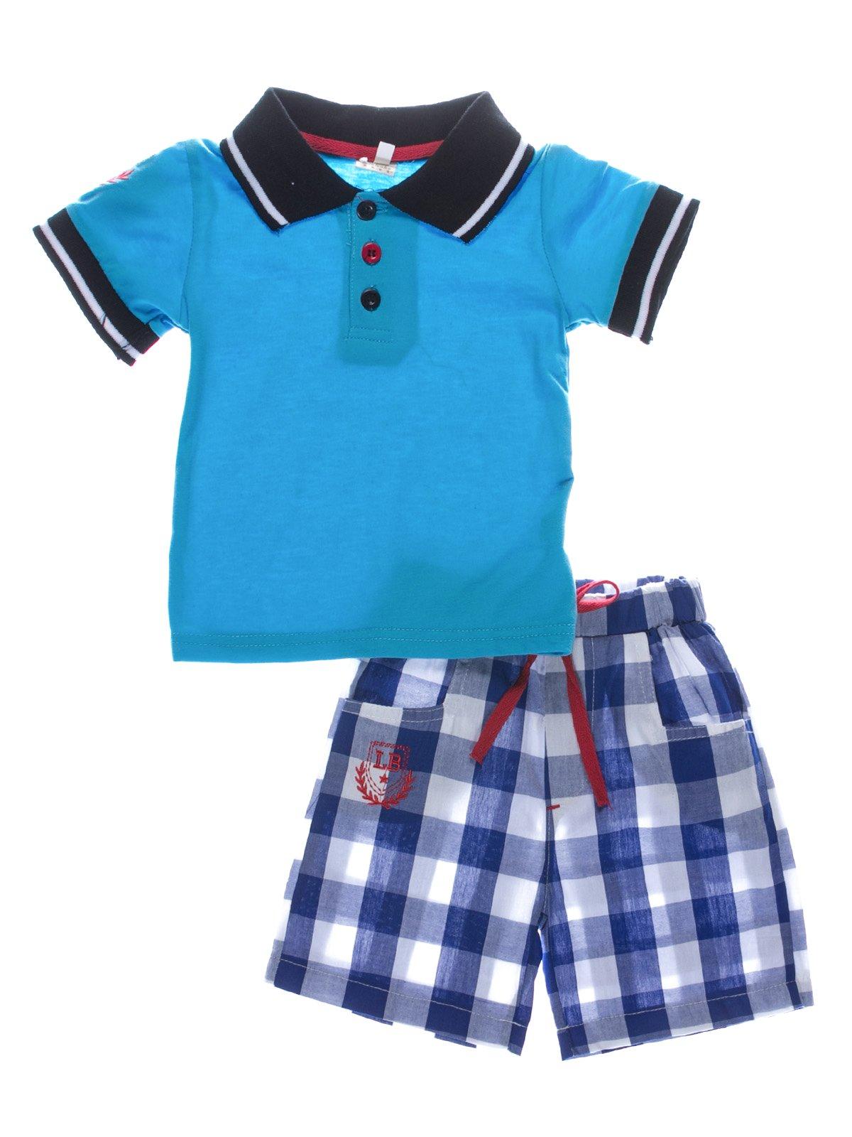 Костюм: футболка-поло і шорти   2137294