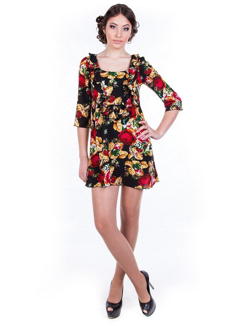 Сукня квіткового забарвлення | 2145369