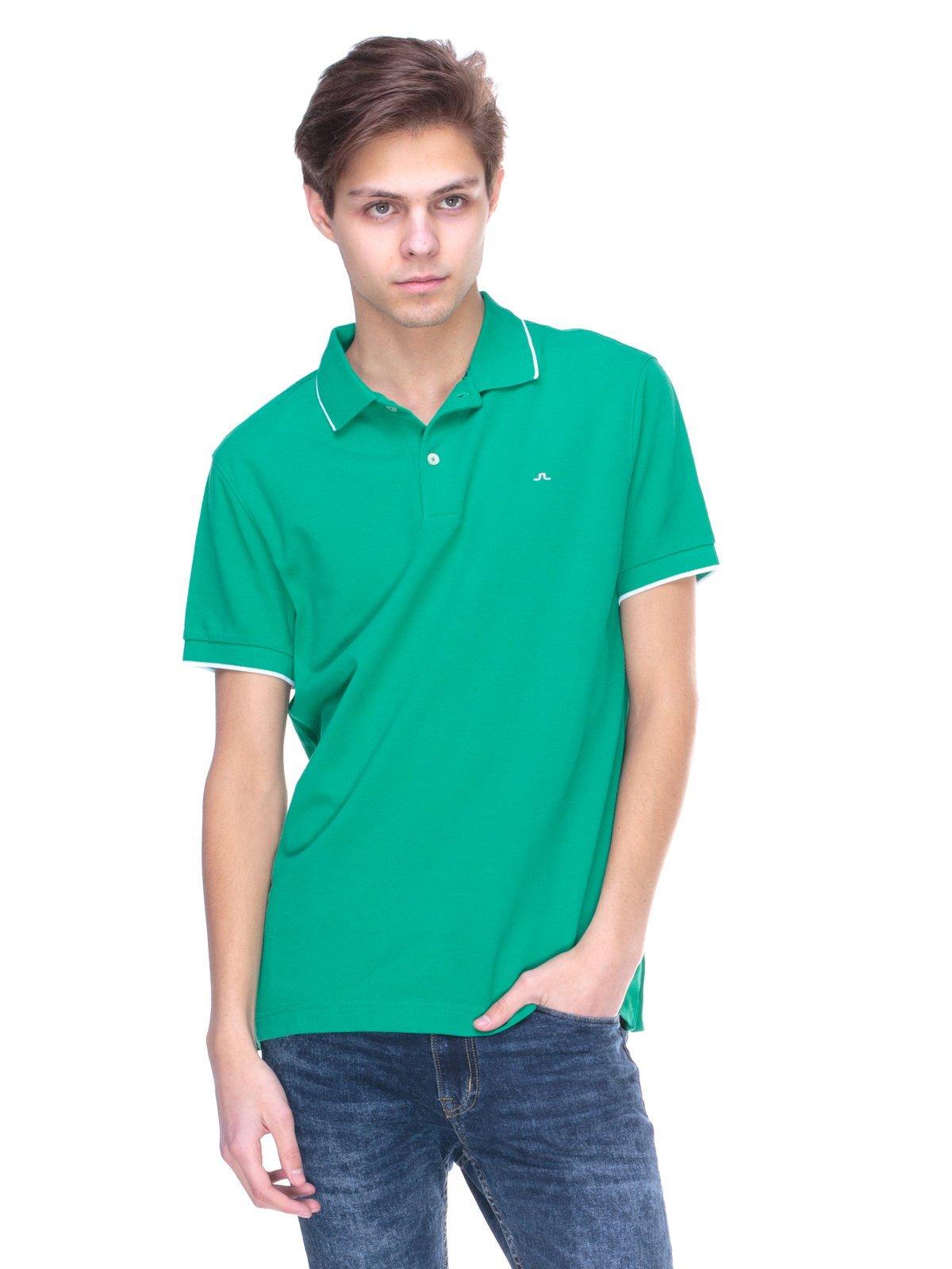 Футболка-поло зелена | 2146987